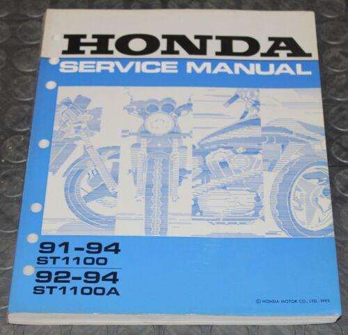NOS OEM Honda Service Shop Manual NEW 91-94 ST1100 92-94 ST1100A ST 1100 A