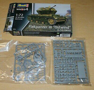 Panzer Pz.III Ostwind in 1/72 von Revell