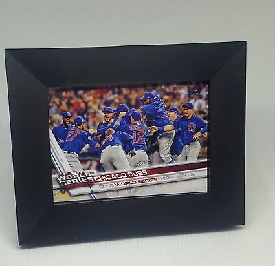 2017 Topps Cubs #206 World Series Highlights (Includes Display -