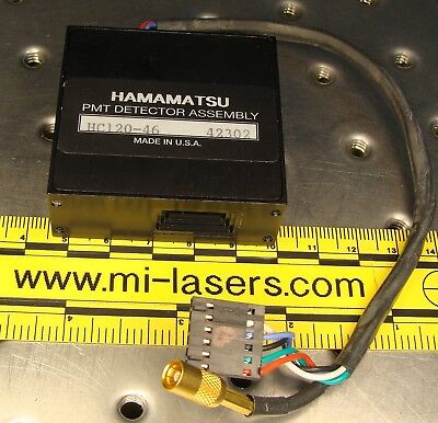 Hamamatsu Hc120-46 Pmt Photomultiplier Assembly Light Detector Module Tube