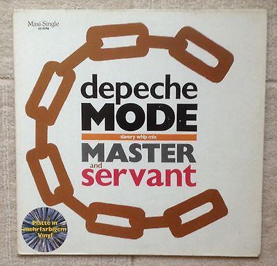 """Depeche Mode - Master And Servant Splatter Vinyl 12"""""""