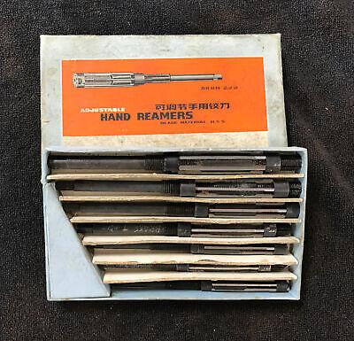 Vintage Box Of Adjustable Hand Reamers