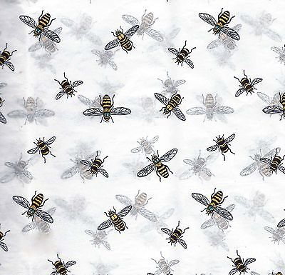 Buzzing BEE Tissue Paper # 253 ~ 10 Large Sheets