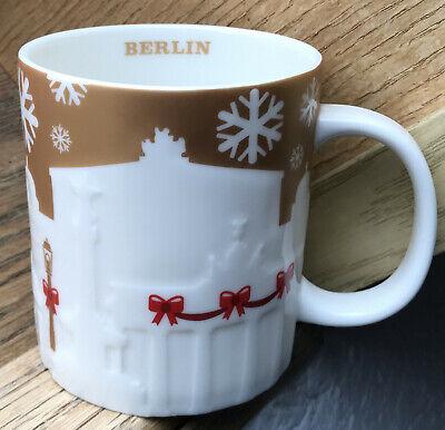 Starbucks Relief Mug City Mug Tasse London Becher gold /& white RARe