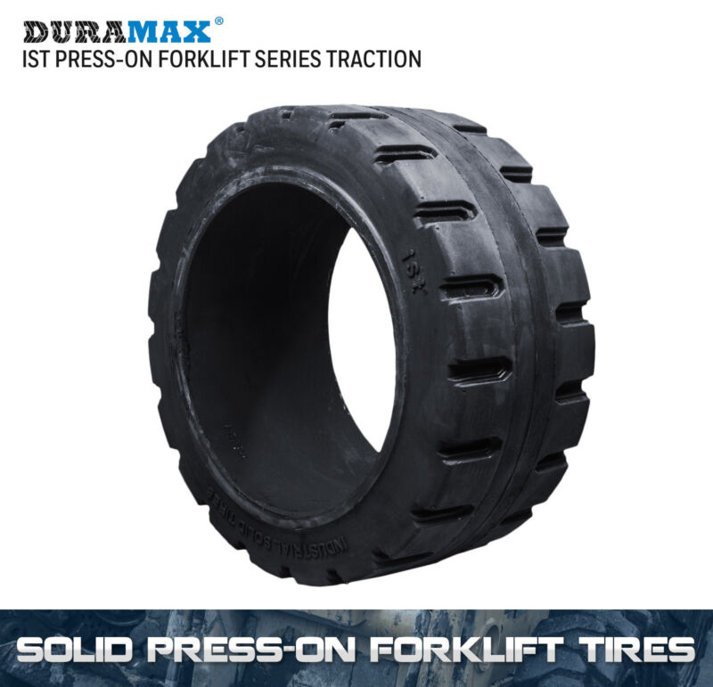 22x9x16 Duramax IST Traction Solid Press On Forklift Tire 22x9-16 (1 Tire)