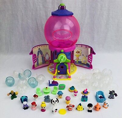 Disney Little Mermaid Squinkies Mini Figure LOT w/ Bubbles Ariel Eric Max Ursula