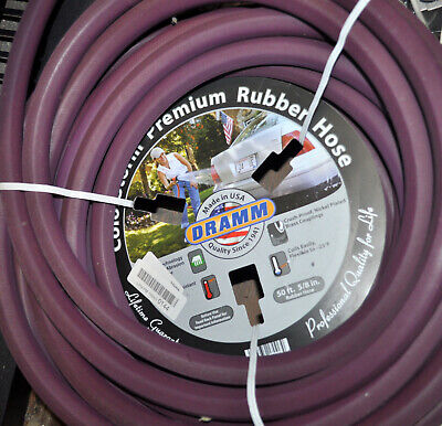 NEW Dramm 17006  Berry ColorStorm Rubber Garden Hose, 5/8