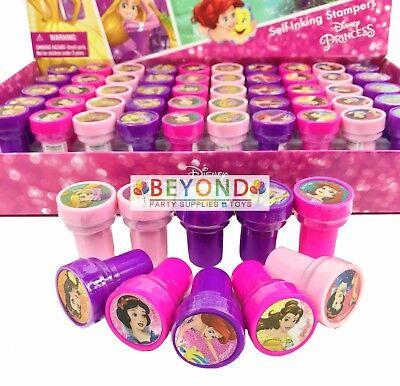Disney Princess Self Ink Stamps Birthday Party Favors Gift Bag Filler - Disney Princesses Party