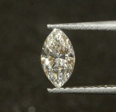 GIA certified loose .50ct VS2 E marquise cut diamond vintage estate vintage Marquise Vs2 Loose Diamonds