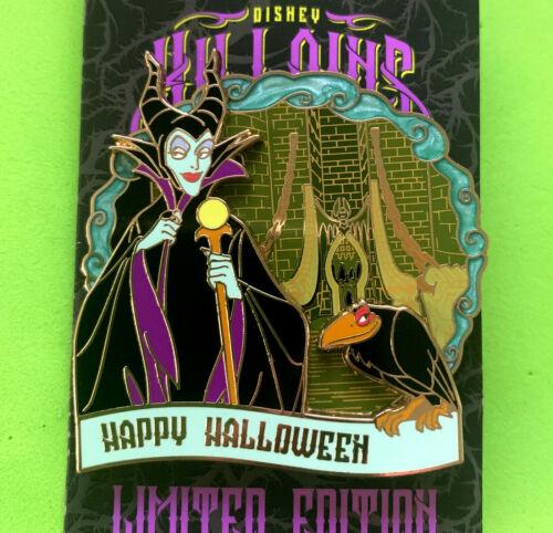 Disney Collector Pin MALEFICENT Happy Halloween 2020 Disneyland LE 5500