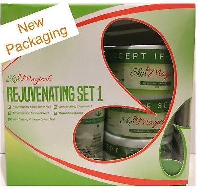 Skin Magical Rejuvenating Set#1 FDA HALAL and Dermatologist Tested 100%Authentic
