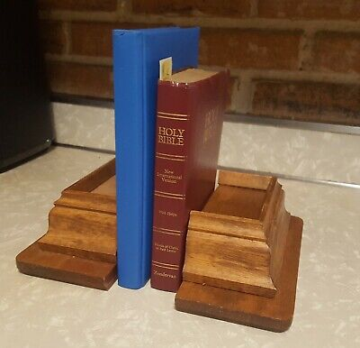 Wooden Bookends (or Floating Shelves) with Hidden Compartment