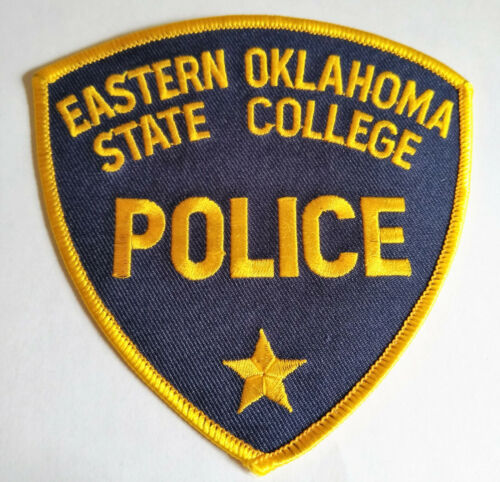 Eastern Oklahoma State College Police Patch /// FREE US SHIPPING!