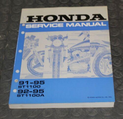 NOS OEM Honda Service Shop Manual NEW 91-95 ST1100 92-95 ST1100A ST 1100 A