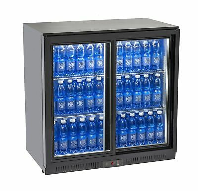 Vetrina refrigerata frigorifero frigo per Bibite con 2 porte Scorrevoli , usato usato  Fogliano Marina