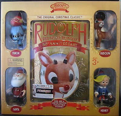 Rudolph The Red Nosed Reindeer 50th Anniversary  - Rudolph The Red Nosed Reindeer Set