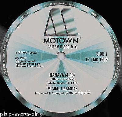 "MICHAL URBANIAK Navana / Joy 12"" vinyl UK 1980 Motown"