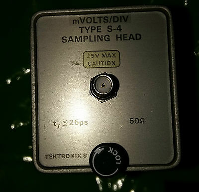 Tektronix Type S-4 Sampling Head