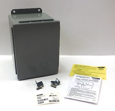 Hoffman Junction Box Enclosure A8066ch Panel Mount Steel Gray 8 X 6 X 6