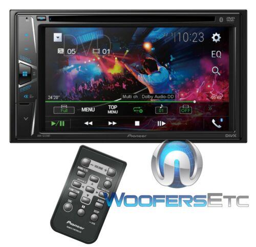 "PIONEER AVH-G225BT CAR STEREO DOUBLE DIN 6.2"" TV CD USB DVD BLUETOOTH REMOTE NEW"