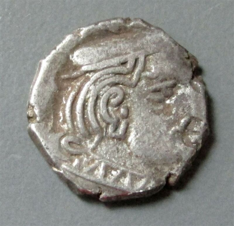 c. 295 AD SILVER DRACHM INDO SAKAS OF WESTERN INDIA