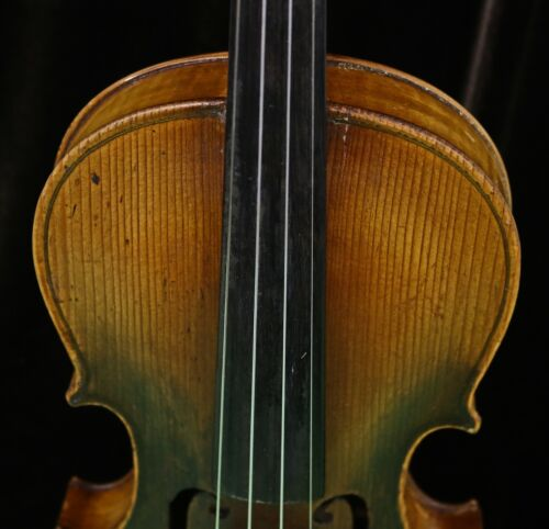 Old Violin by Juraj Berghuber, Circa 1900 -Listen to the Video!