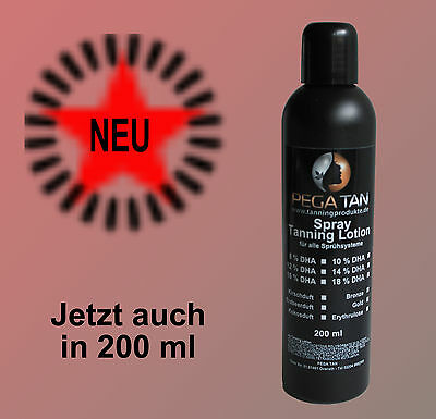 Bronze Tanning Lotion ( Airbrush/Spray Tanning Lotion 8 % DHA*Top Aktuell* mit Bronzeschimmer  200 ml)