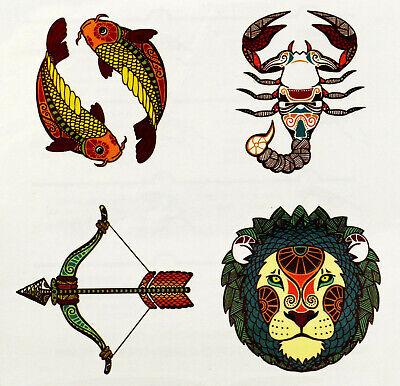 New Kinder  Einmal-Tattoo Temporary Body Art Wasserdicht F17 Neu