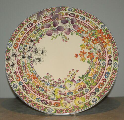 NEW Round Cake Platter , Bagatelle  From GIEN