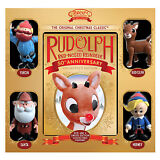 Rudolph The Red-Nosed Reindeer: 50th Anniversary Collector [DVD, 4-Figurine Set]