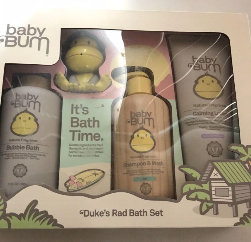 NIB Baby Bum Dukes Rad Bath Set Sun Bum