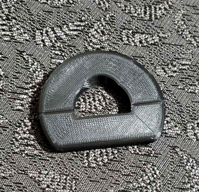 BLACK Minelab Equinox 600/800 Hand Grip Stop (Verson 2)
