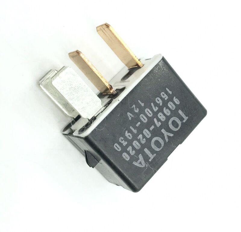 Toyota Lexus 4-Pin Black Multi-Use Relay Denso 90987-02020 156700-1930 12V