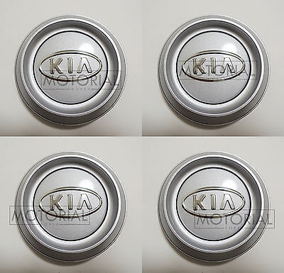 KIA SORENTO 2003 2004 2005 2006 Genuine OEM Wheel Center Hub Cap 4EA 1Set