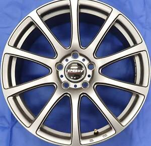 SET OF FOUR (4) SPEEDY 18x8 5/120 et45 CARBINE Gladesville Ryde Area Preview