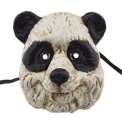 Mask Venice Bear Panda paper mache Collection prestige 2415 V68