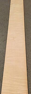 Curly Maple Wood Veneer 7 Sheets 42 X 5.5 11 Sq Ft