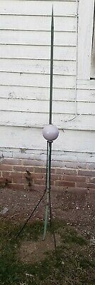 COPPER BALLS  quality made antiqued  2/'/' /& 4/'/' for weathervane// LIGHTENING ROD
