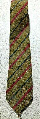 New 1930s Mens Fashion Ties VINTAGE 1930's  IRISH HANDWOVEN TWEED WOOL 3
