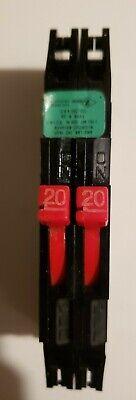 Zinsco Thin -tandem Rc-38 2020 Twin 20a Circuit Breaker Free Shipping In Usa