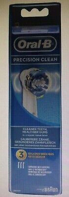 3 Unidades Recambio Oral B Precision Clean Cepillo Electrico Recambio NUEVO¡¡¡