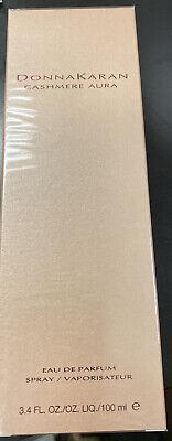 Donna Karan 'Cashmere Aura' Eau De Parfum Spray 3.4oz/100ml New In Box