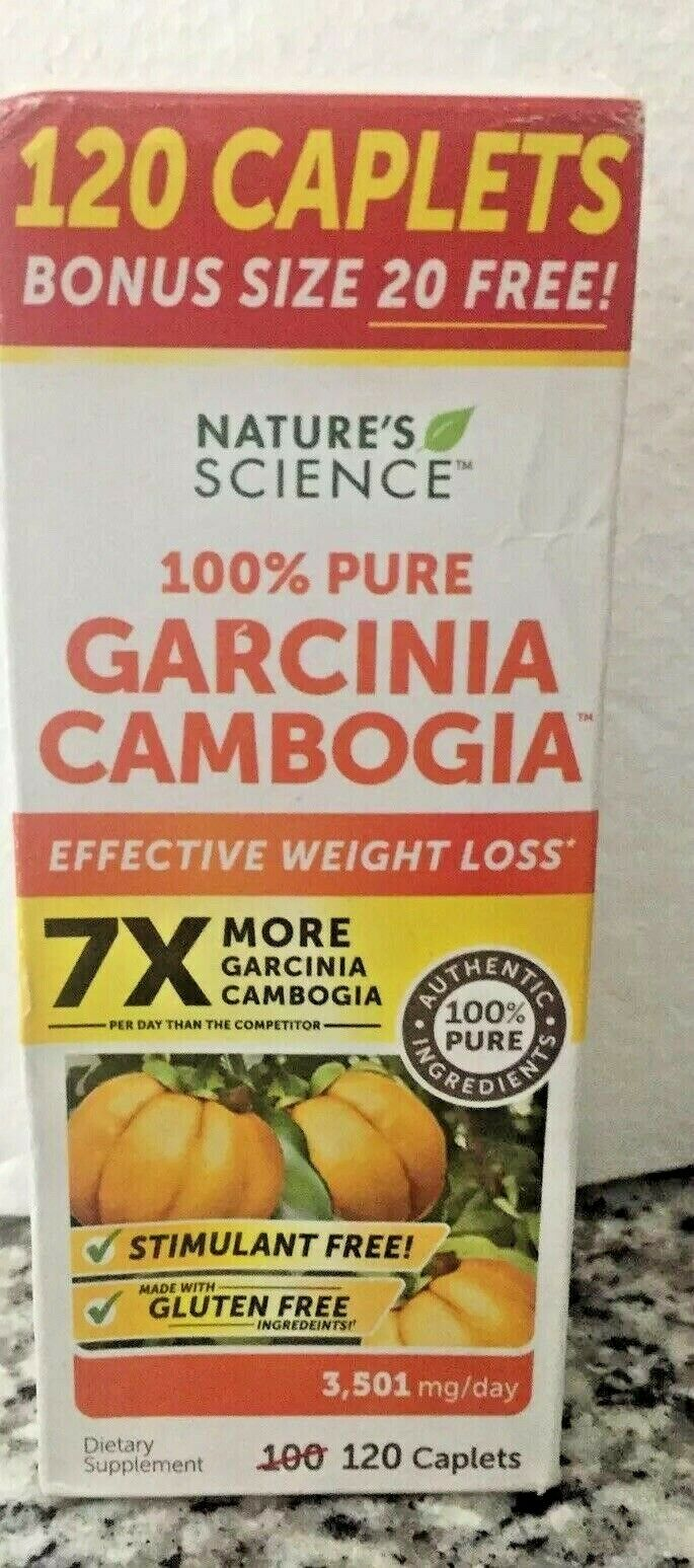 Nature's Science 100% Pure Garcinia Cambogia Bonus Value Siz