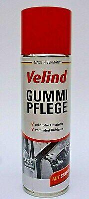 (12,50€/L) 1x Velind Gummipflege Spray 300 ml mit Silikon Türgummi Winterpflege