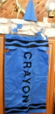 Crayon Costume For Adults (Crayola Crayon Blue Costume for Adult small - medium )
