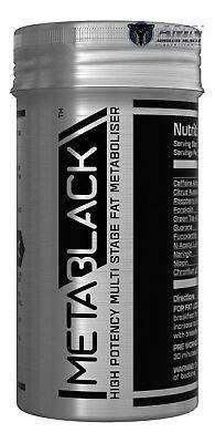 MetaBlack - M3 - 60 Capsules - High Potency Fat Metaboliser