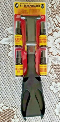 4 in 1 Deer Scrape Maker + 3 Scents, Conditioner & DVD by Whitetail Innovations