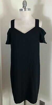 BANANA REPUBLIC BLACK SPRING/SUMMER DRESS WOMEN'S CLOTHES SIZE 8P EUC
