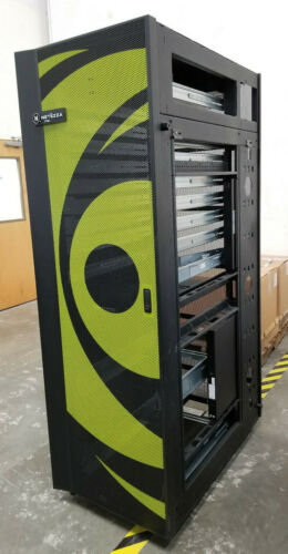 Netezza 42U Server Rack Enclosure with Front & Rear Doors  LOCAL PICKUP ONLY!