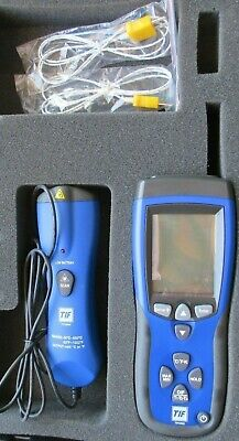 Tif3320 Tif Spx 3320 Differential Thermometer W Infrared Unit No Case